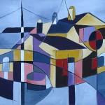 Grosse-Gisele-la-maison-de-l Ecluse-55x38-acrylique